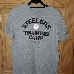 Steelers Training Camp T-Shirt - Size M